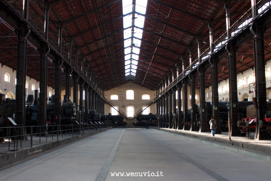 pietrarsa museo treni ferrovie