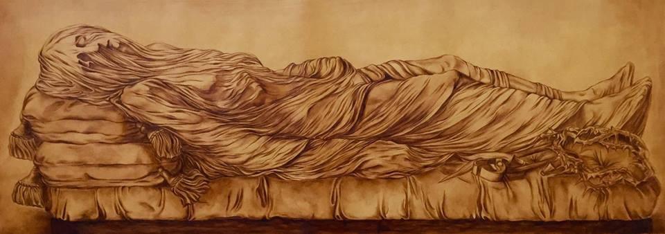 maria scognamiglio arte pittura nativi d'america gesù cuoio