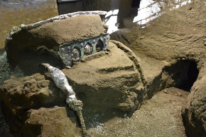 carro matrimonio pompei